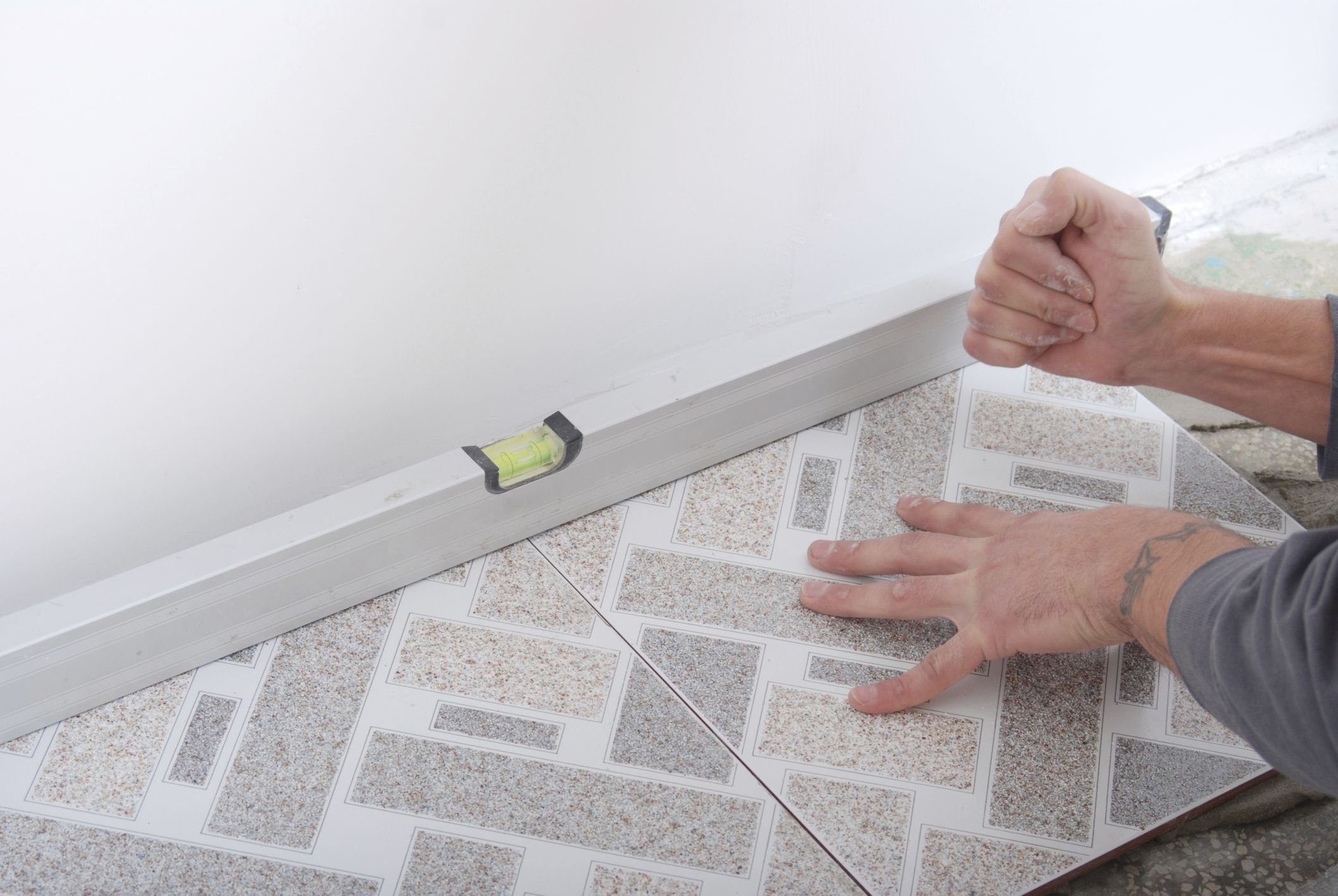 Transforming a bathroom with self adhesive floor tiles why you should consider adhesive floor tiles vs self stick tiles dailygadgetfo Images