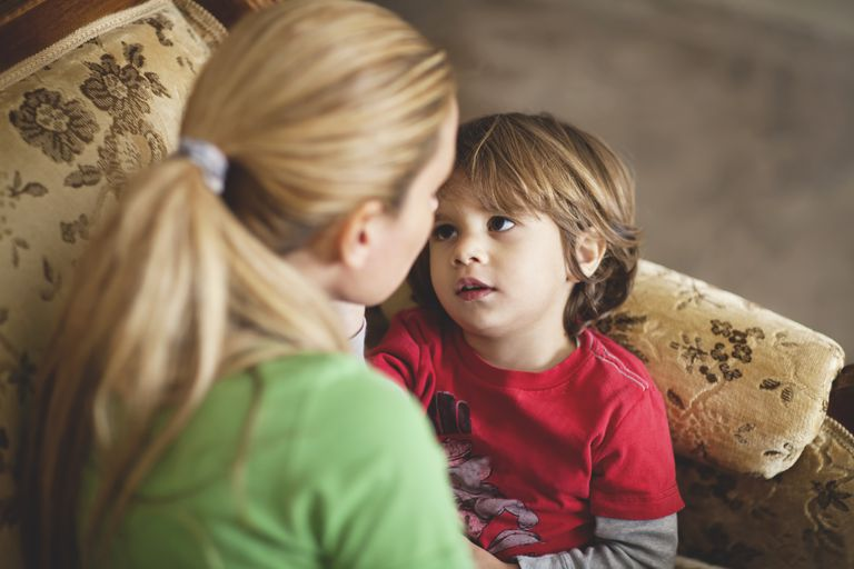 Use gentle discipline to teach your child how to manage his behavior.