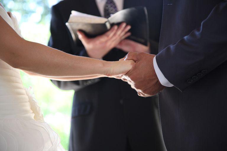 Gift for the poor catholic wedding ceremony