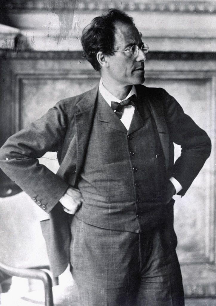 Conductor Gustav Mahler