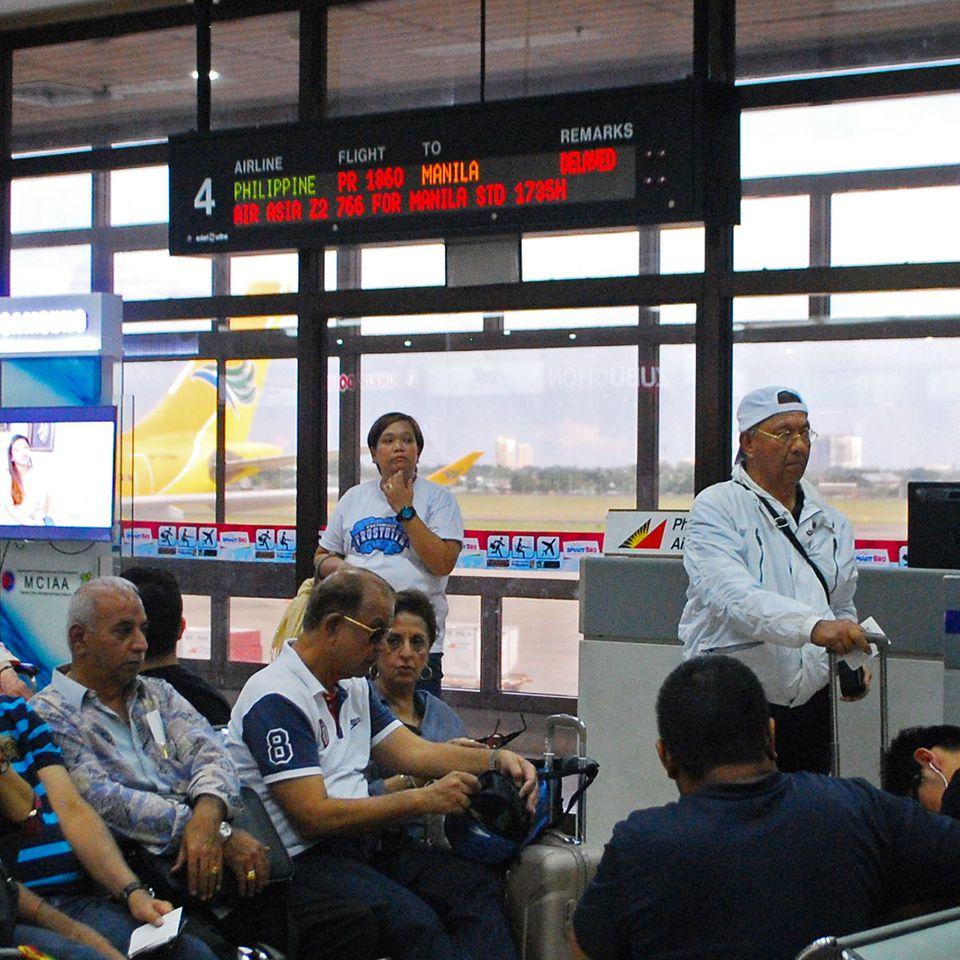 Cebu Airport pre-departure lounge, Philippines