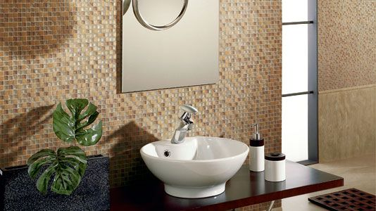 easy contemporary glass mosaic italian tile - Bathroom Tile Ideas Design