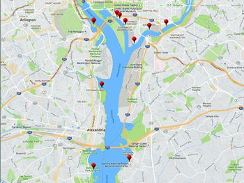 See Maps And Learn About Washington Dc S Marinas And Boat Docks C O C Map Essentials