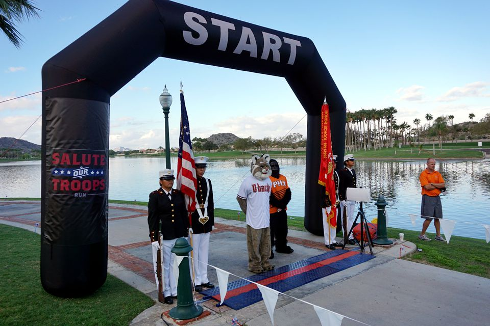 Salute Our Troops Run in Goodyear