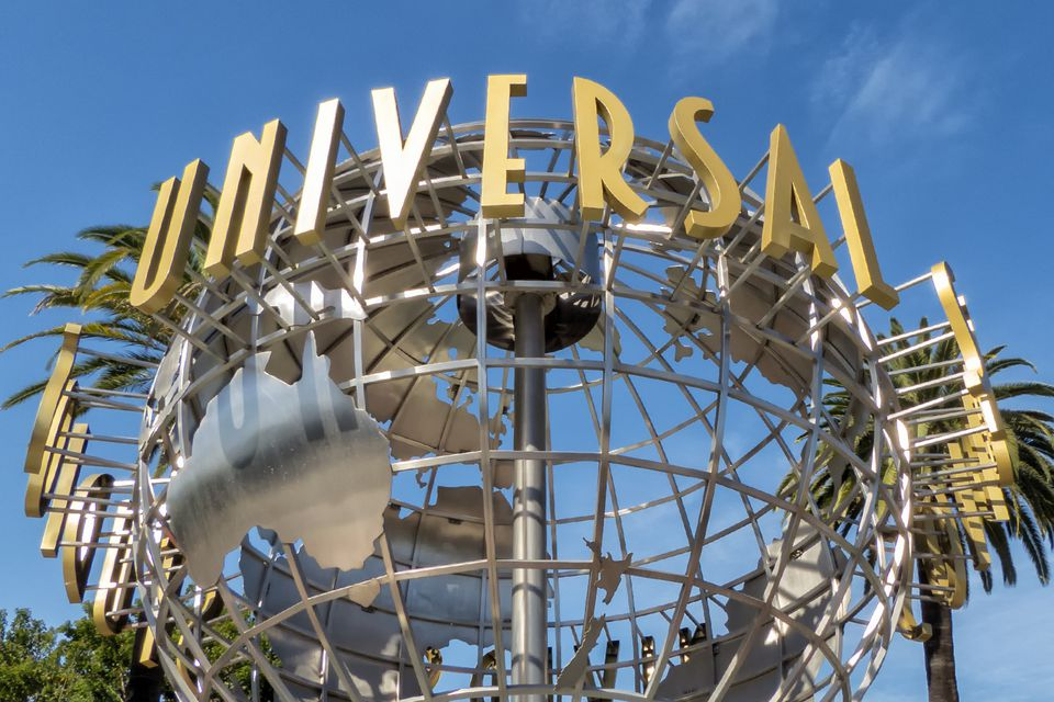 Universal Studious Hollywood Entrance