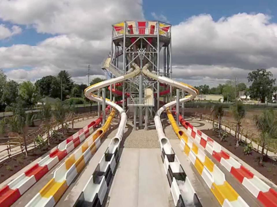 Bonzai Pipelines at Six Flags New England