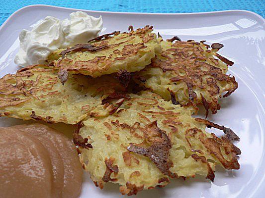 Low Fat Potato Latkes