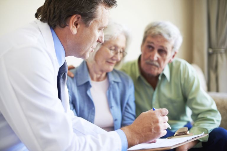 Couple Receiving News of Dementia