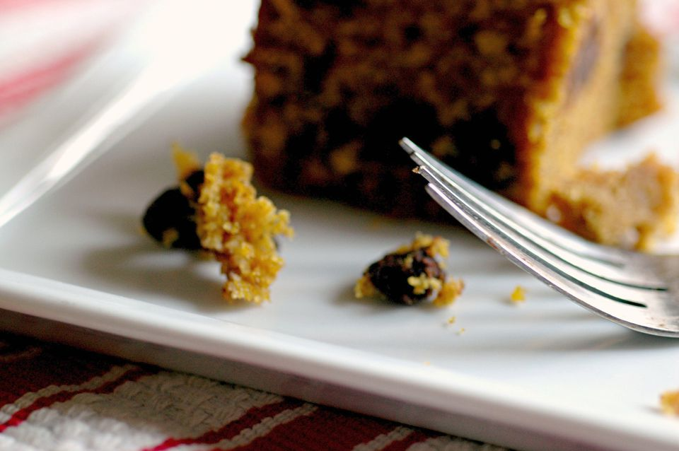 Pumpkin Bread with Nuts and Raisins