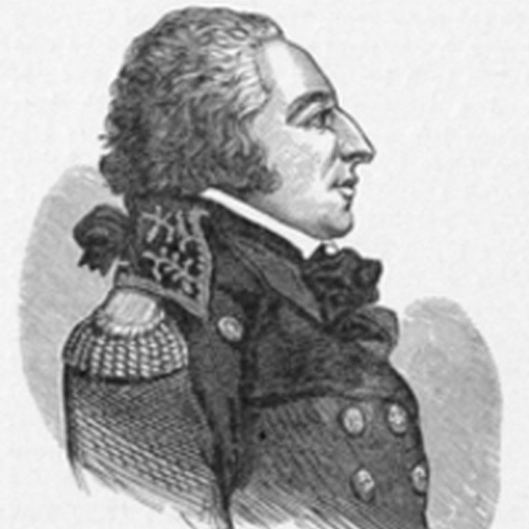 Old portrait of Edmond Charles Genet, 'Citizen Genet'