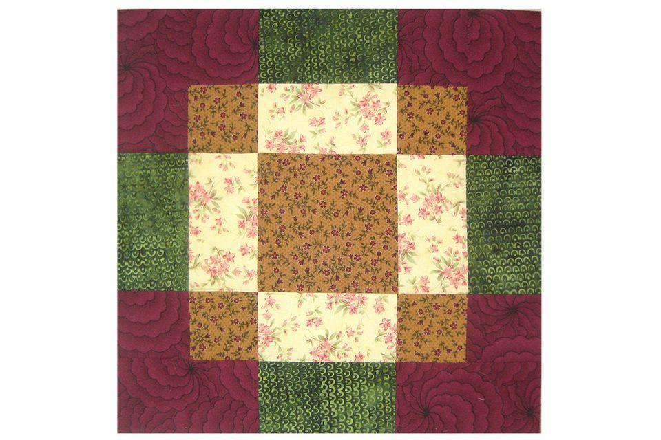 Antique Tile Quilt Block Pattern