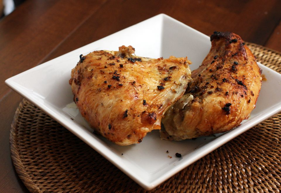 Roasted Garlic and Oregano Chicken Breasts