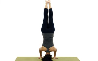 the key to mastering crow pose or bakasana