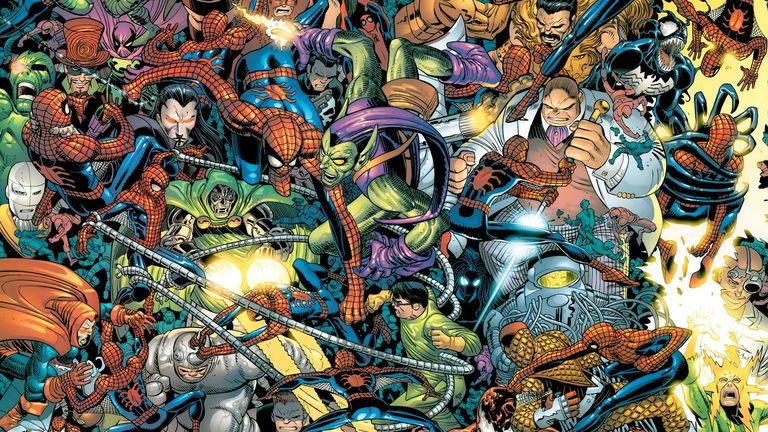 spider-man villains comic john romita jr