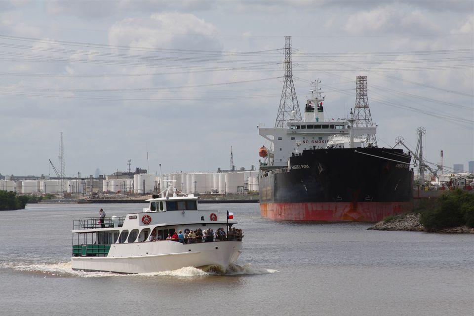Sam Houston Boat Tour, Houston Ship Channel