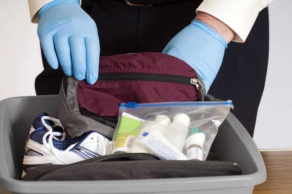 Airport Security Baggage Search