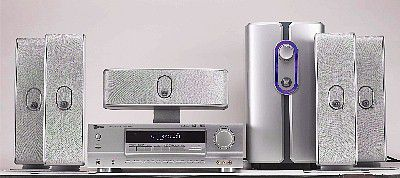 SLS Q-Line Silver Home Theater System