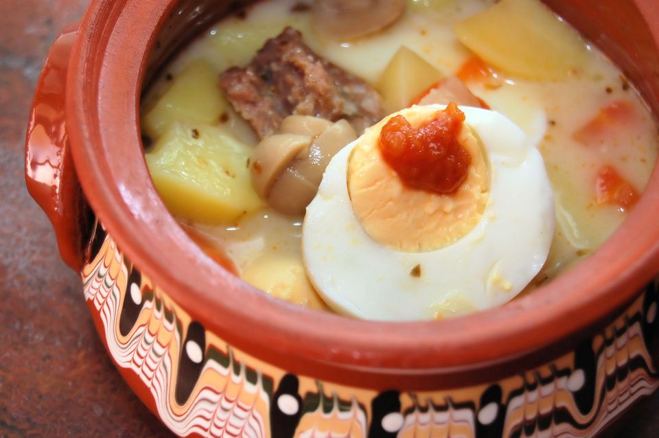 Zurek- Polish Ryemeal soup