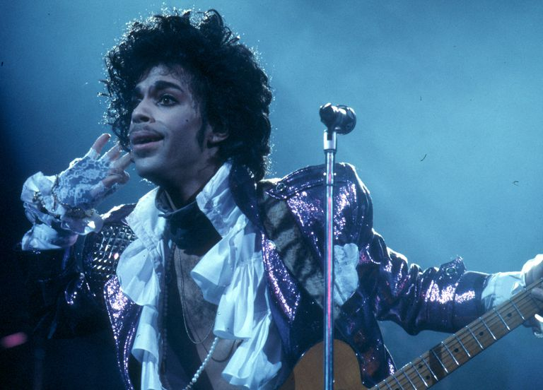 Prince performs live in Los Angeles