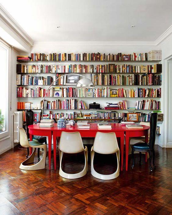 Home Libraries: 25 Stunning Design Ideas