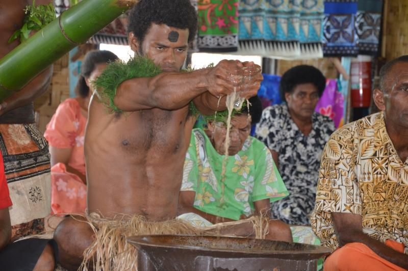 Kava Ceremony in Fiji