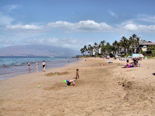 Kama'ole Beach Park II in Kihei, Maui