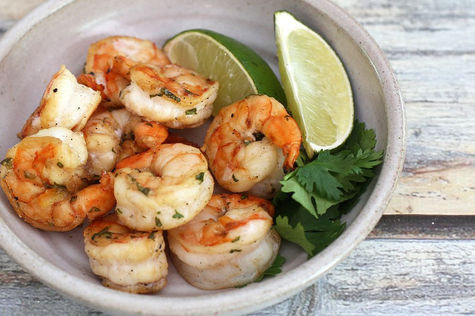 Spicy Shrimp With Orange and Jalapeno