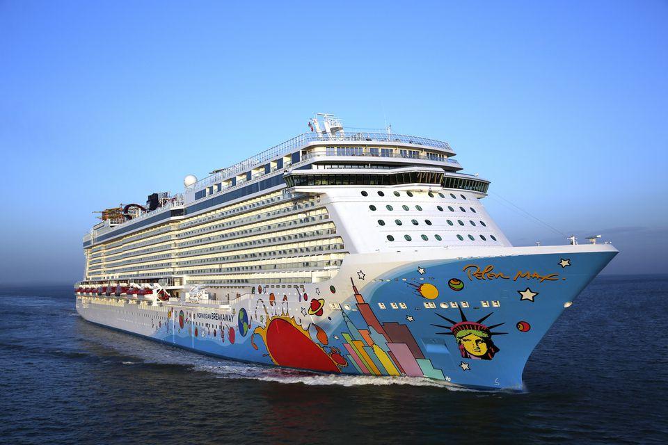 The Norwegian Breakaway cruise ship