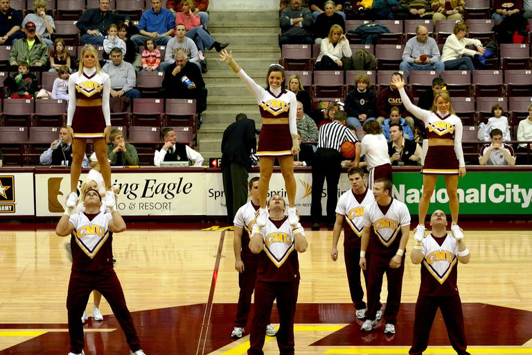 Central Michigan University Cheerleaders