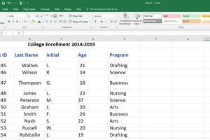 spreadsheet tutorials lifewire