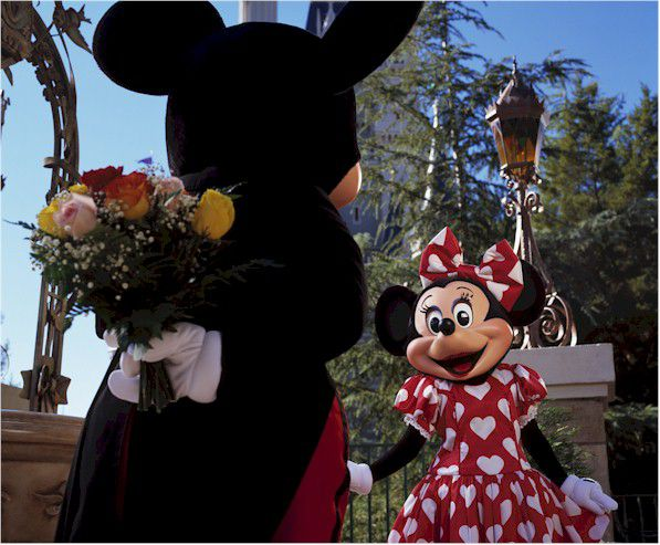 Mickey-Minnie Valentine