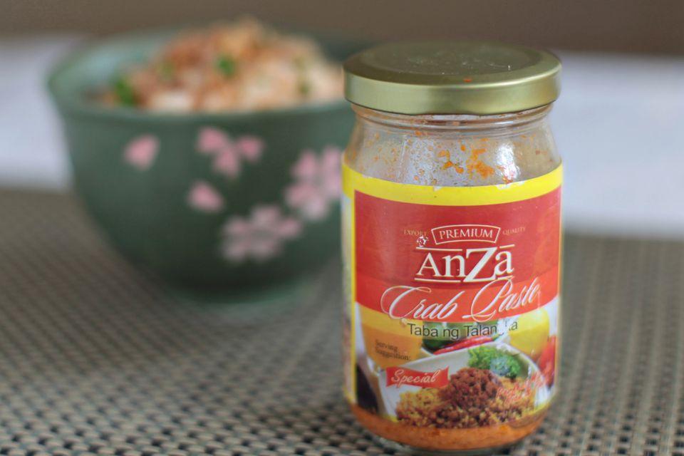 Bottled taba ng talangka (crab paste)