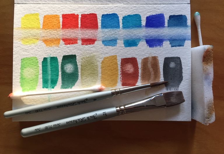 How to Fix Mistakes and Make Changes in Watercolor