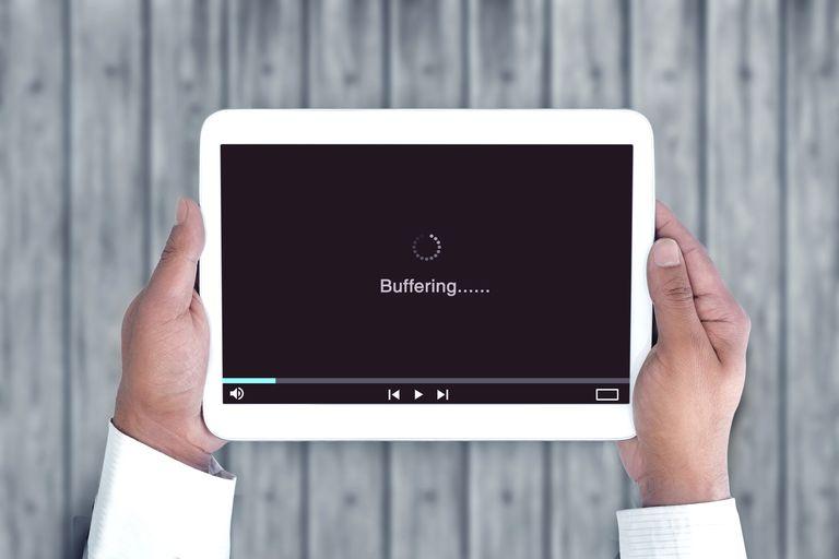 Slow internet, video buffering