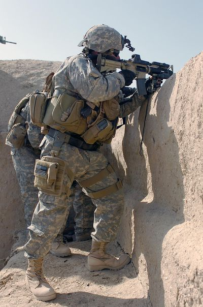 Special forces engineer sergeant