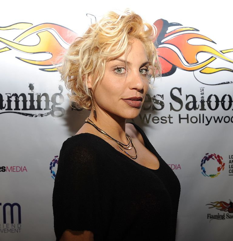 America's Next Top Model winner Lisa D'Amato attends Flaming Saddles Saloon West Hollywood