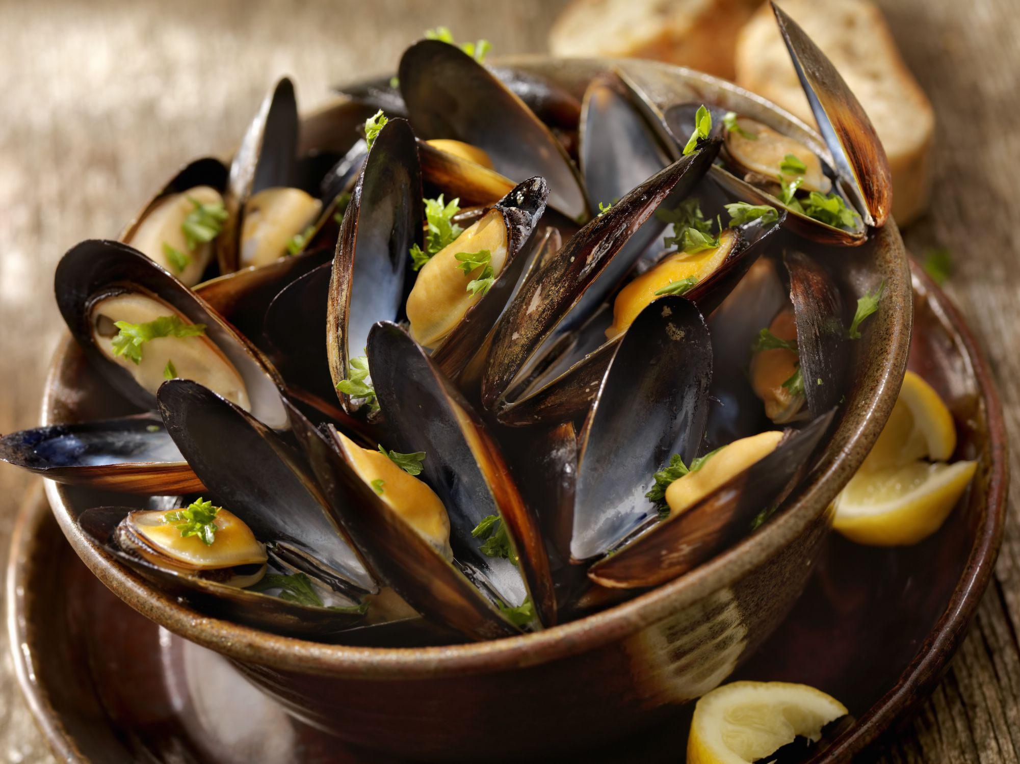 Easy Croatian Mussels Dagnje Na Buzaru Recipe