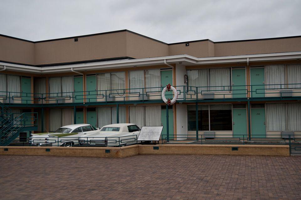 National Civil Rights Museum - The Lorraine Motel - Room 306 - Memphis TN