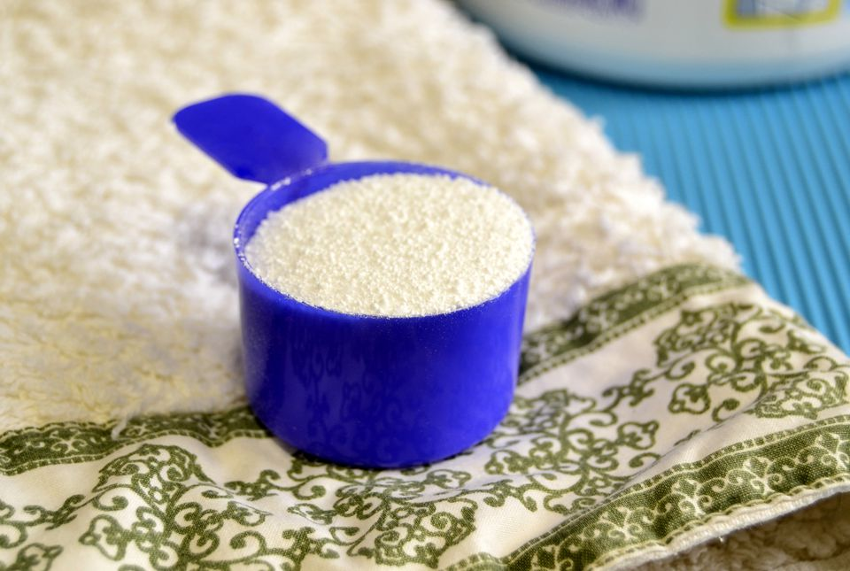 Powdered soap for washing clothes