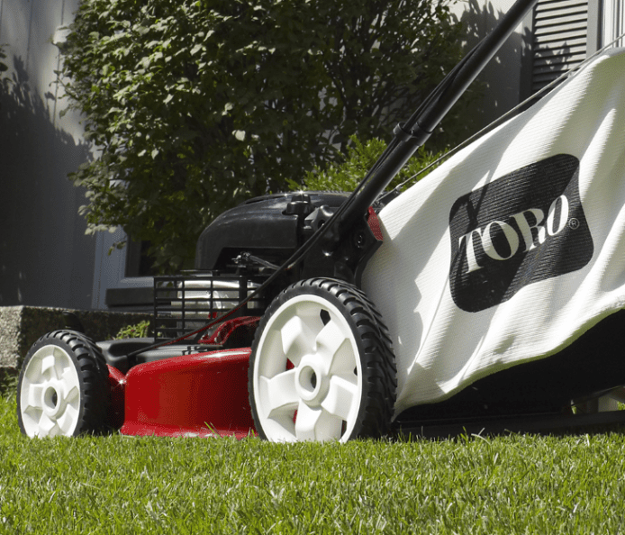 Toro Recycler Lawn Mower with SmartStow
