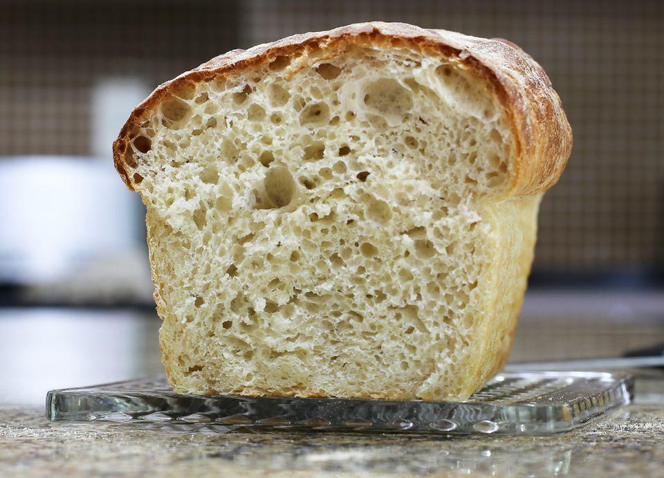 No-Knead Bread Texture