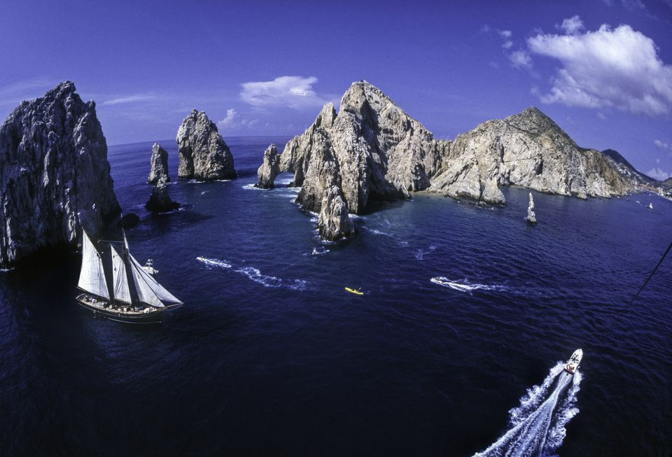 El Arco, at the southern tip of Baja California Sur State