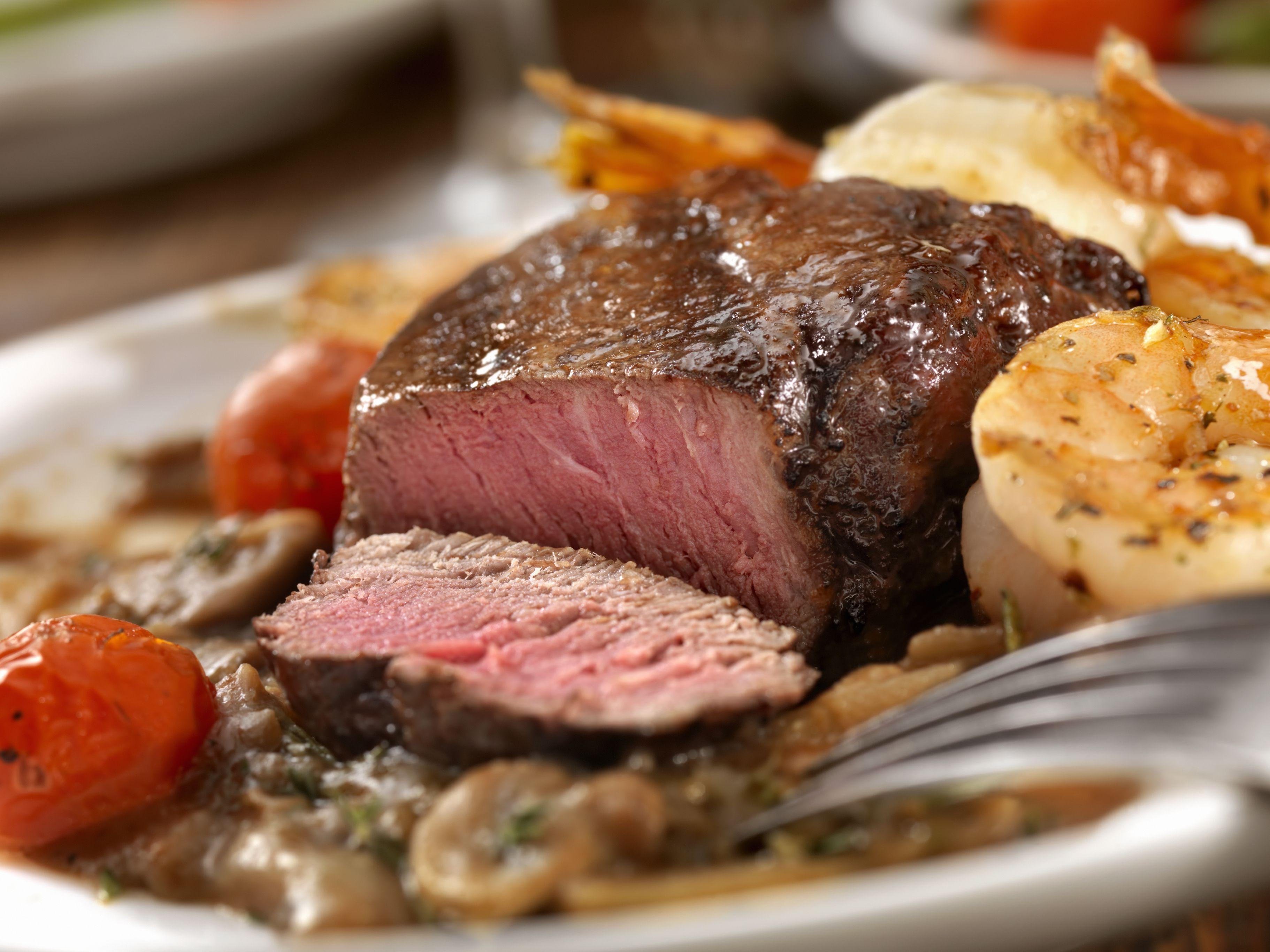 port wine mushroom sauce steak