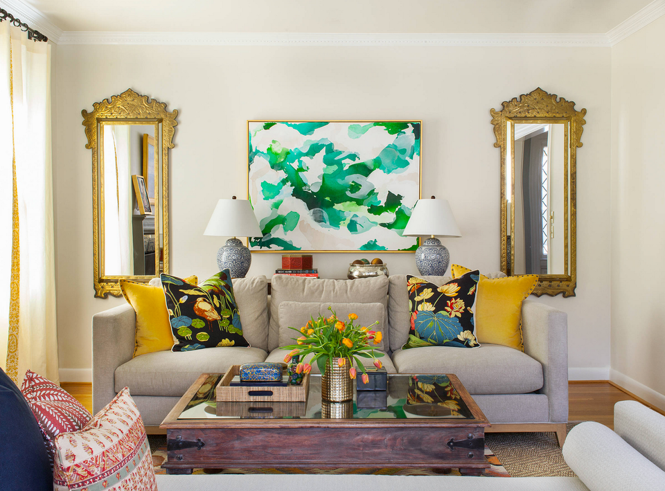 Colorful Living Room 21 colorful living rooms to crave