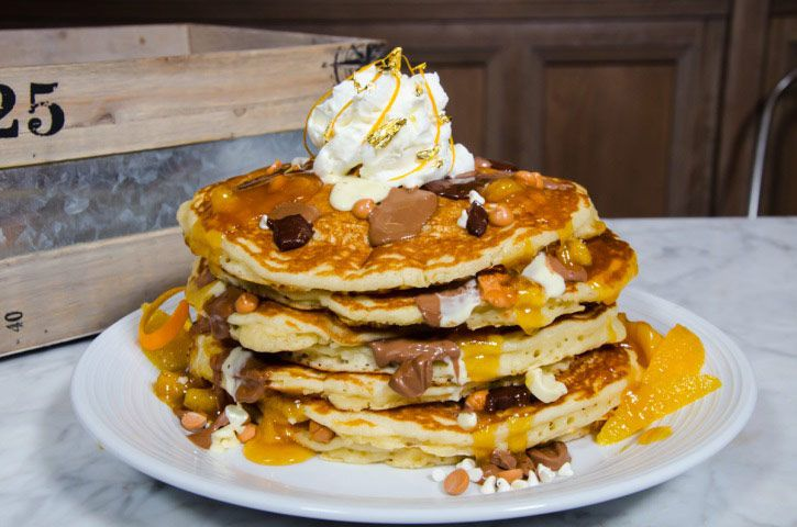 Pancakes at the Pantry at the Mirage