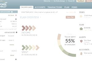 PowerWallet helps you view all your accounts in one plac