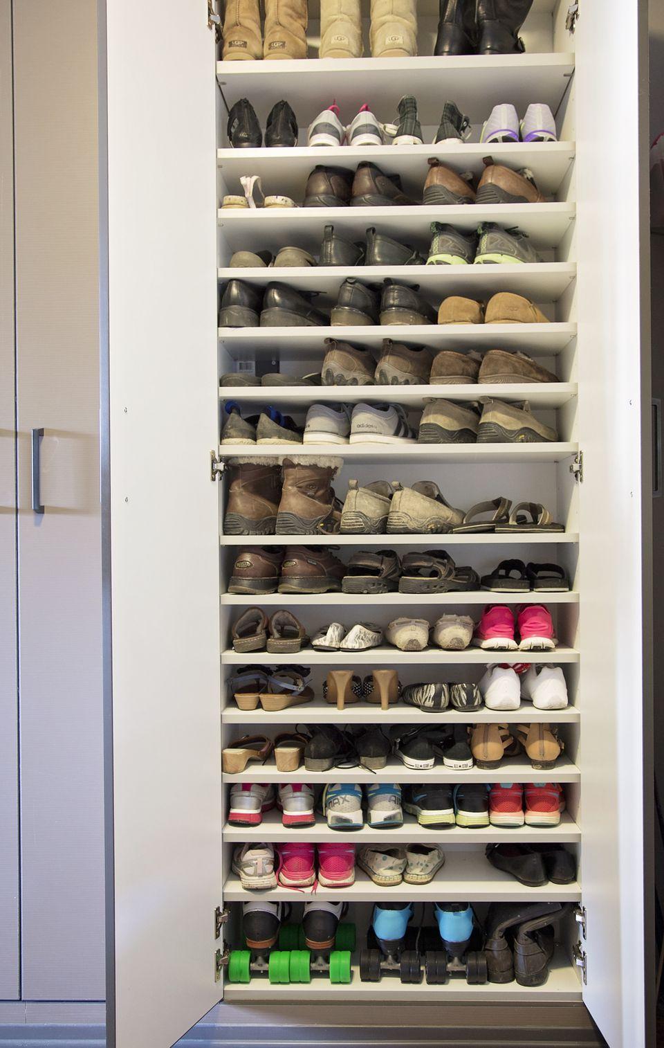 Cabinet Shoe Storage Garage