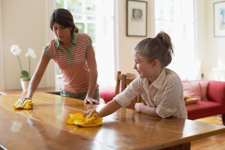 10 Simple Ways to Help Children Clean House
