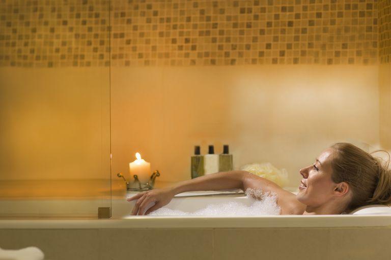 At home spa treatment