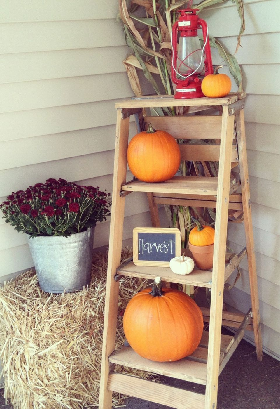 Uncategorized Fall Porch Decorating Ideas Pictures 15 cheap and cute fall front porch decorating ideas ladder door decor rustic pumpkin display